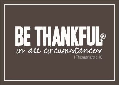 thanksgiving bible quotes