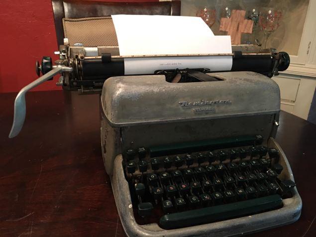 Abuelo's typewriter 2
